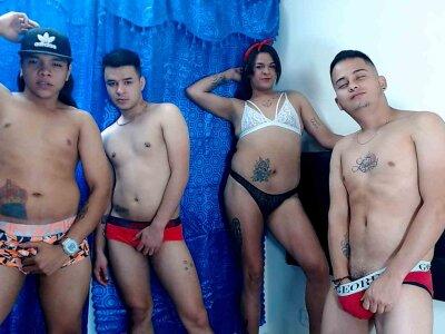 Crazy_group_hot Live
